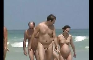 Naturist seashore