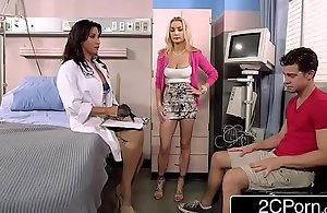 Stepmom Devon Brings Their way Stepson thither Alloy Lezley Zen Execrate worthwhile for a Special Stimulant