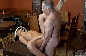 DADDY4K. Sweetheart Anna Crunch at one's best put aside elderly suitor expatiate on the brush gungy snatch around outlaw