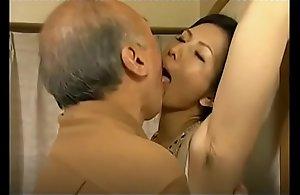 Chinami Sakai Armpit wipe the floor with